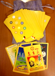 Deck of Tarot ARC cards (Astrological, Rays and Chakras)